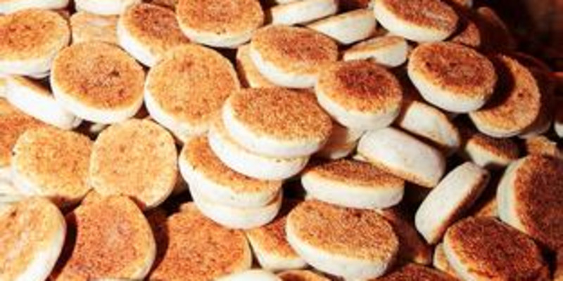 恩阳提糖麻饼