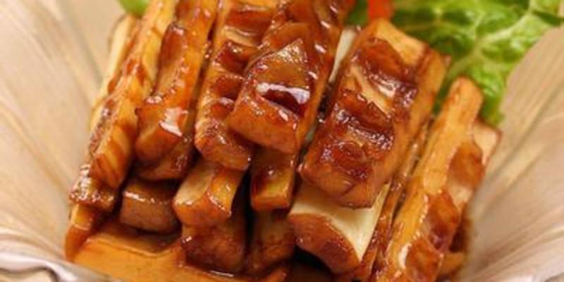 竹笋味甘鲜脆