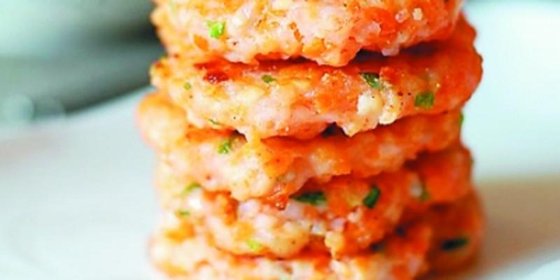 大良煎虾饼
