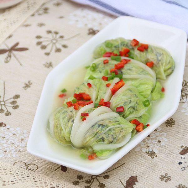 三鲜白菜卷