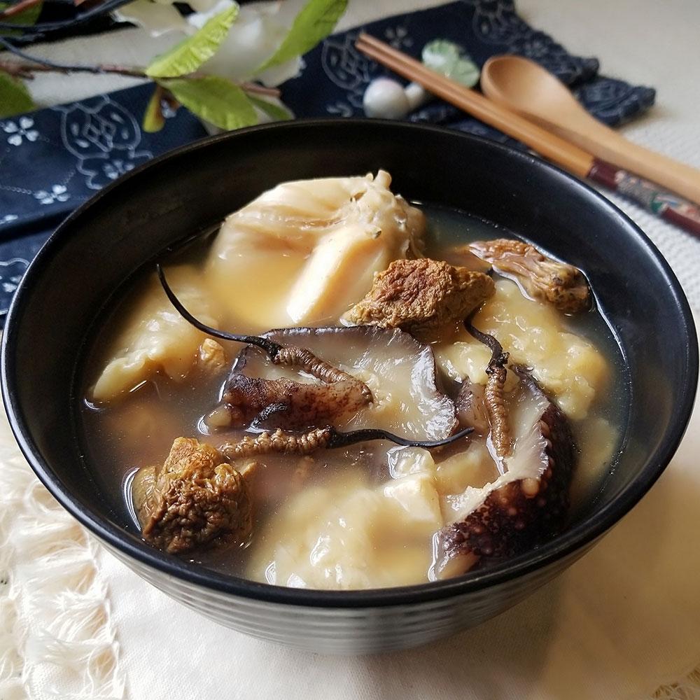虫草三鲜汤