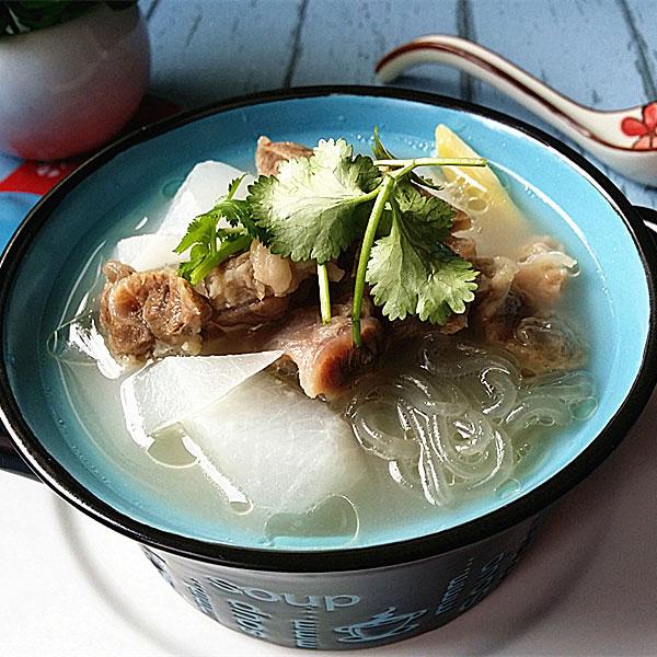 牛肉萝卜粉丝汤