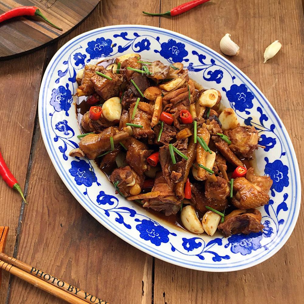生姜炒鸡块