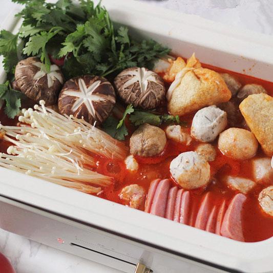 浓汤红番茄火锅