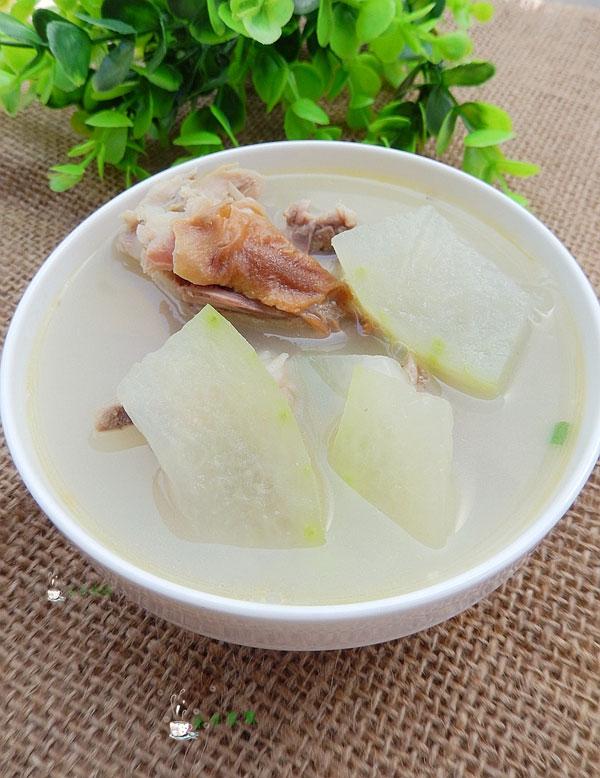冬瓜鸭骨汤