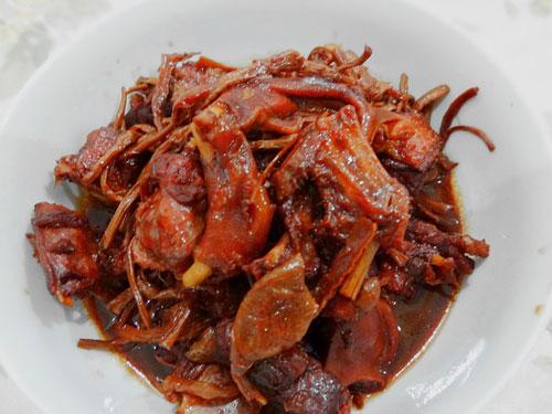 茶树菇烧鹅