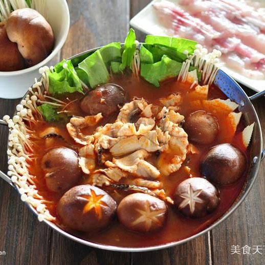 黑鱼番茄火锅