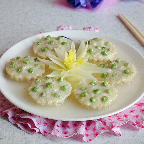 清新味美的莲蓬豆腐