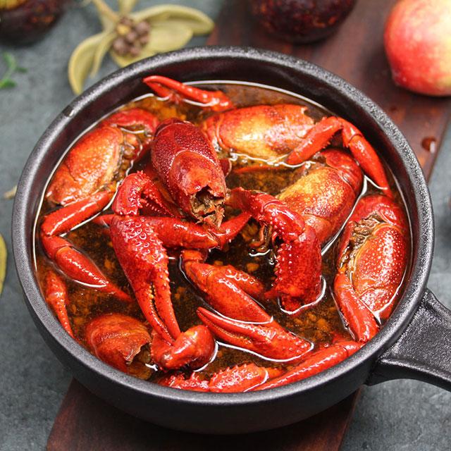 卤汁小龙虾