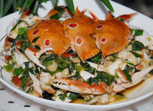 家常小炒蟹