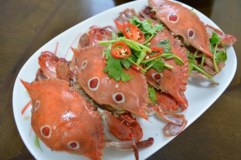 五香三点蟹