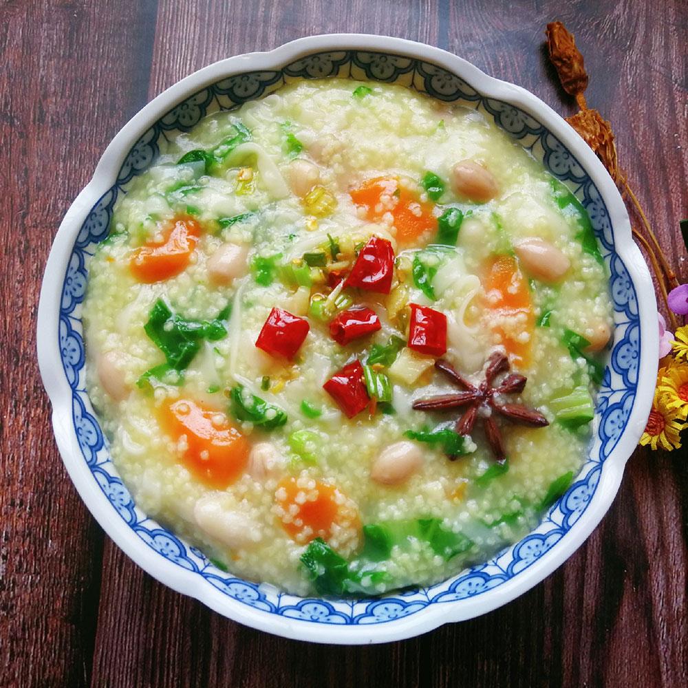 小白菜小米面条