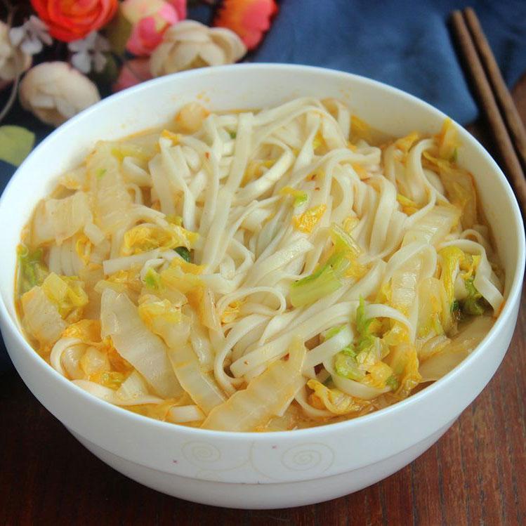 大白菜汤面