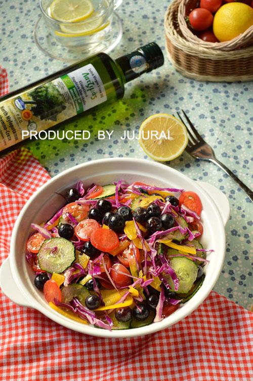 橄榄油果蔬沙拉