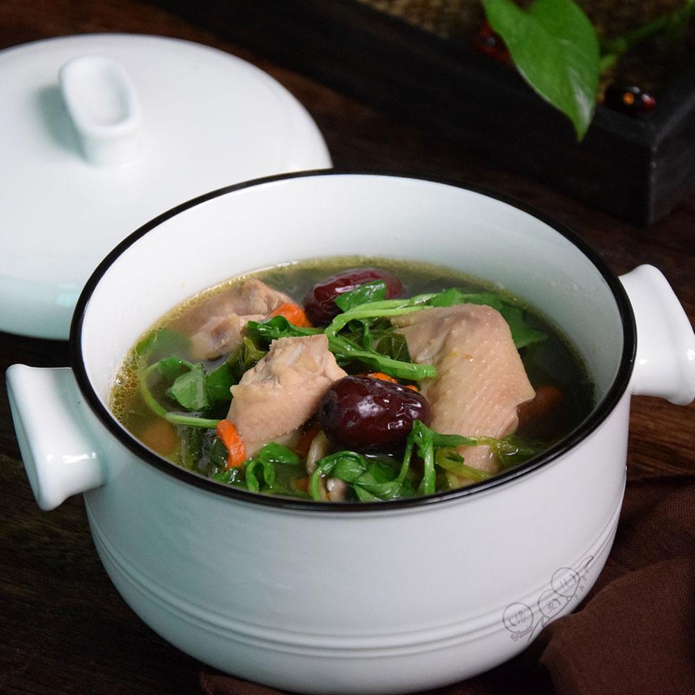 西洋菜鸡汤