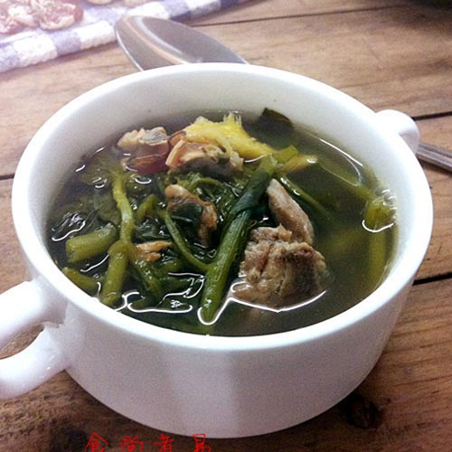 西洋菜猪肉汤
