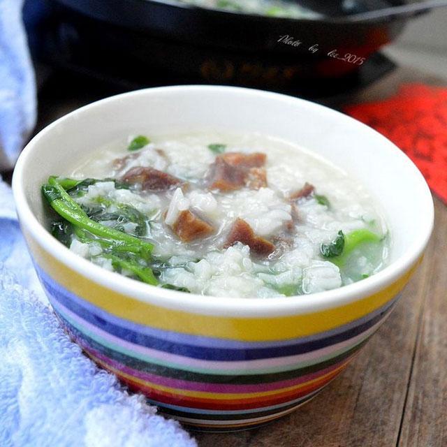 腊瘦肉西洋菜粥