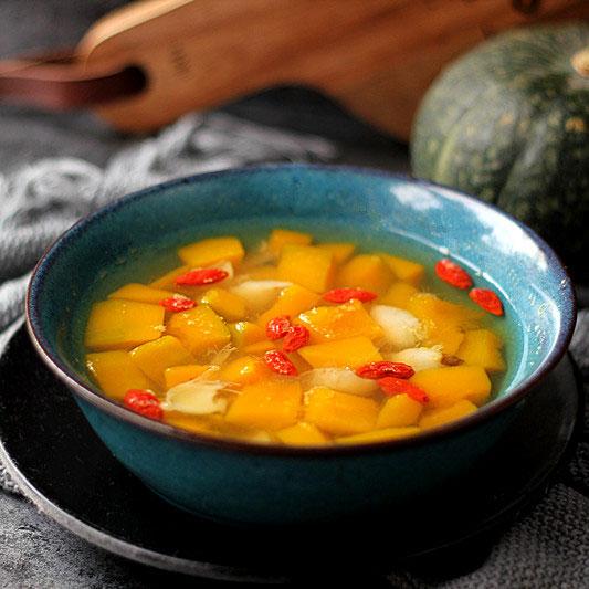 南瓜百合甜汤