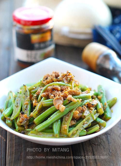 黑胡椒四季豆