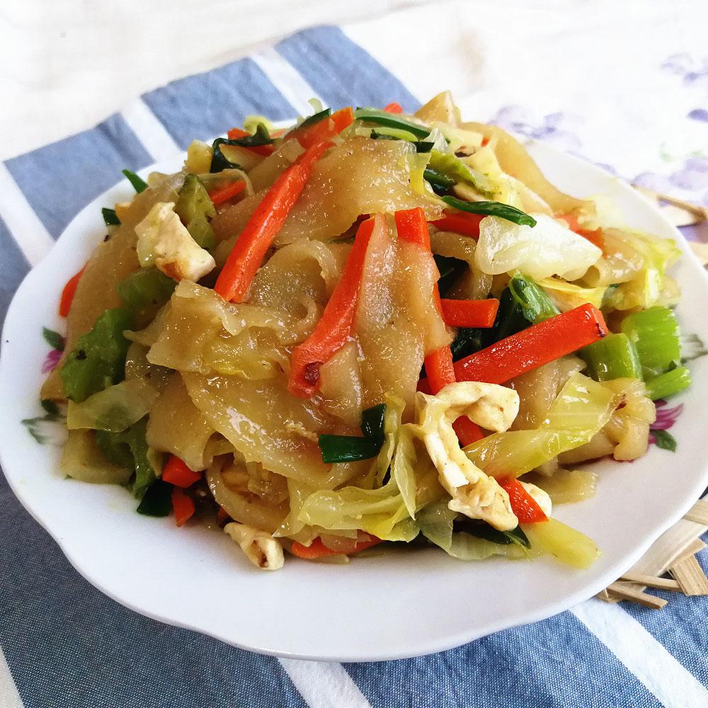 卷心菜炒粉皮