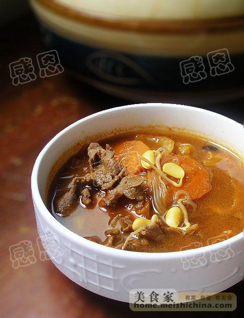 辣白菜大酱汤