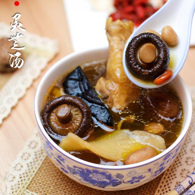 花姑灵芝养生汤